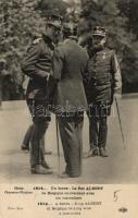 ...Un brave - Le Roi Albert de Belgique conversant avec un journaliste / King Albert talking to a journalist, Albert király beszélget egy újságíróval