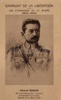 Emprunt de la Libération; les Vainqueurs de la Marne. General Mangin / French military, Mangin tábornok, francia hadsereg