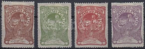 1906 Jólét sor Mi 161-164