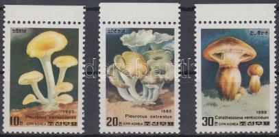 1985 Gombák sor Mi 2640-2642