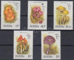 1987 Gombák sor Mi 213-217