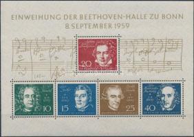 1959 Beethoven-halle blokk Mi 2
