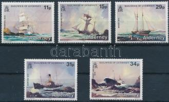1987 Hajók sor Mi 32-36