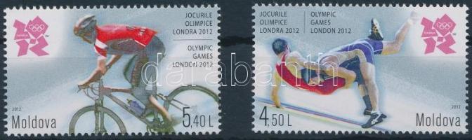 2012 Nyári Olimpia, London sor Mi 803-804