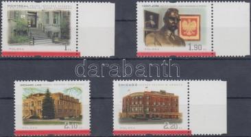 2001 Lengyel kultúra külföldön sor (közte ívszéli bélyegek) Mi 3892-3895