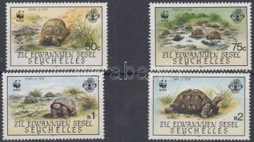 1987 WWF teknősök sor Mi 137-140