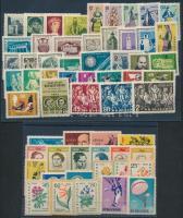 1960-1961 Csaknem teljes évfolyam kiadásai, 2 db stecklapon