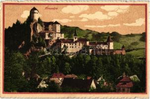 Árvaváralja, Oravsky Zámok; vár, kiadja Feitzinger Ede No. 870. / castle