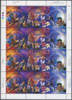 1999 Ezredforduló kisív Mi 936-938