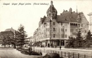 Szeged, Ungar Mayer palota, Corsó kávéház (EK)