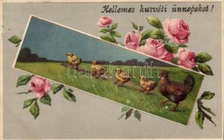 Húsvét / Easter, Emb. litho