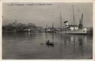 Constanta, Silozurile si Vaporul Dacia / silos, ships