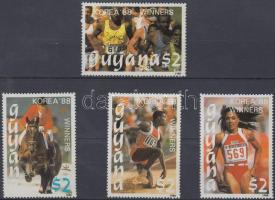 1989 Nyári olimpia sor első négy értéke Mi 2492-2495