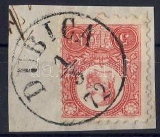 1871 5kr / Mi 10 DUBICA