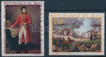1969 Napóleon születésének 200. évfordulója sor Mi 180-181