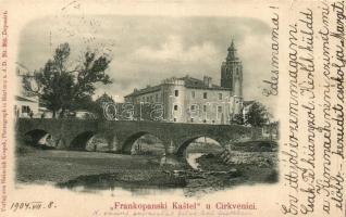 Crikvenica, Frankopanski kastel / castle, Crikvenica, Frankopán kastély