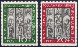 1951 Lübecki Maria templom sor Mi 139-140