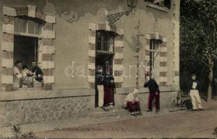L'Heure de la Visite / French military hospital, visiting hours, Francia katonakórház, látogatási idő