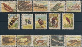 1962 Állatok sor Mi 820-834