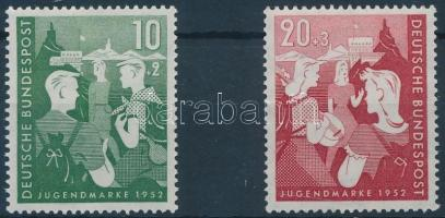 1952 Ifjúság sor Mi 153-154