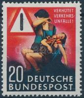1953 Közlekedési baleset-megelőzés Mi 162