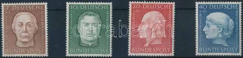1954 Az emberiség segítői sor Mi 200-203