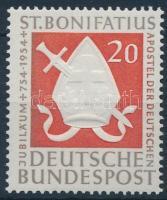 1954 1200 éve hunyt el Szent Bonifác Mi 199