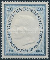 1955 Friedrich von Schiller halálának 150. évfordulója Mi 210
