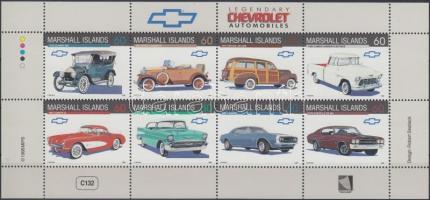 1998 Chevrolet autók kisív Mi 1027-1034