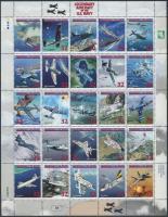 1998 Repülők a hadi tengerészetben kisív Mi 1002-1026