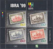 1999 Nemzetközi bélyegkiállítás, IBRA blokk Mi 27