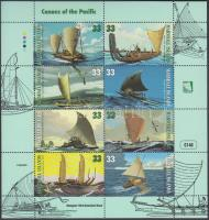 1999 Kenuk a Csendes-óceánon kisív Mi 1120-1127