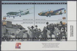 1998 50 éves a Berlini légihíd sor ívsarki 4-es tömbben Mi 975-978