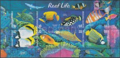 2000 Élő korallzátonyok kisív Mi 1394-1401