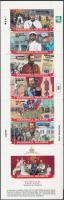 1998 II. Nikolaus cár 80. születésnapja bélyegfüzet Mi 994-1000