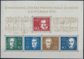 1959 A bonni Beethoven-csarnok blokk Mi 2