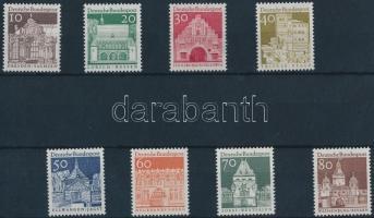 1966 Forgalmi sor 8 értéke Mi 490-492, 494-498