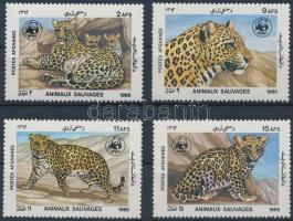 1985 WWF: Leopárd sor Mi 1453-1456