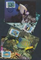 1986 WWF: Halak sor 4 db CM-en Mi 1198-1201