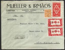 1935 Ajánlott távolsági levél