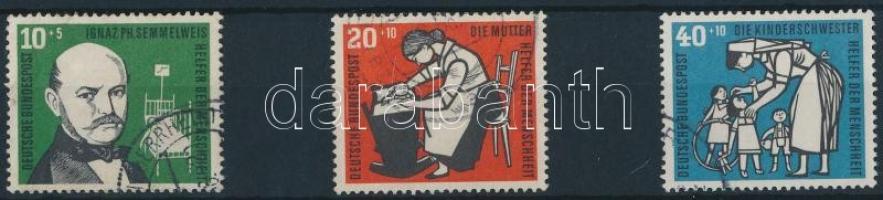 1956 Gyermekgondozás sor 3 értéke Mi 244-246
