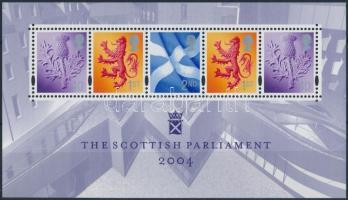Skócia 2004 Forgalmi bélyeg blokk Mi 1