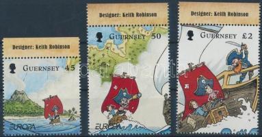 2010 Europa CEPT gyermekkönyvek ívszéli sor Mi 1297-1299
