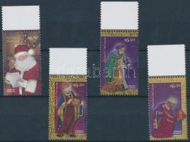 2009 Karácsony ívszéli sor Mi 3540-3543