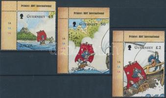 2010 Europa CEPT gyermekkönyvek ívsarki sor Mi 1297-1299