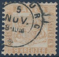 1864 Címer Mi 20b