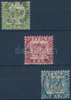 1868 Címer sor Mi 23-25 (23a)