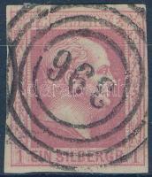 1857 Friedrich Wilhelm király Mi 6b
