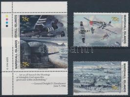 1994 II. világháború (LXXIV.) sor Mi 517-520 I