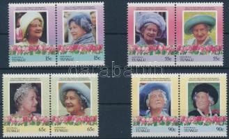 Queen Elizabeth set in pairs Erzsébet anyakirályné sor párokban